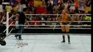4 Rko's in 1 minute  - Raw 09/06/2010 [HQ]