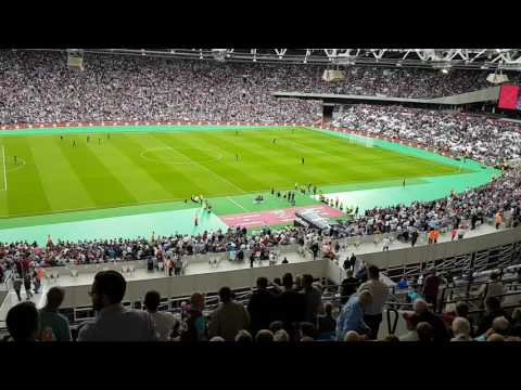 I'm Forever Blowing Bubbles - First Time Ever at The London Stadium | WEST HAM UNITED