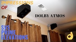 Impressions SVS Prime Elevation speakers for Dolby Atmos
