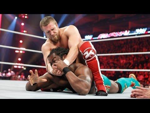 Kofi Kingston Vs. Daniel Bryan: Raw, April 16, 2012