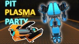 PIT PLASMA PARTY - Robocraft Update