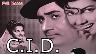 CID | Full Hindi Movie | Popular Hindi Movies | Dev Anand - Johnny Walker - Mehmood - Waheeda