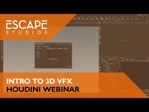 Intro to 3D VFX: Houdini