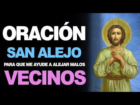 🙏 Oración A San Alejo Para ALEJAR MALOS INQUILINOS ¡No Los Dejes Entrar! 🙇