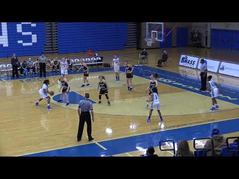 UMass Boston Women's Basketball vs. U. Southern Maine Highlights (1/24/18)