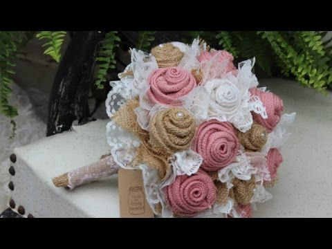 burlap-and-lace-wedding-bouquet