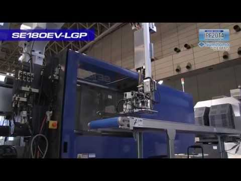 Sumitomo (SHI) Demag SE180EV-LGP Light Guide Plate Injection Molding Demo