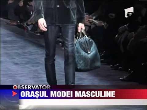 Cele mai mari case de moda isi prezinta colectiile masculine 17 IANUARIE 2012