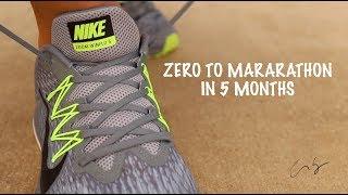Zero To Marathon in 5 Months - Marathon Training - Day 2