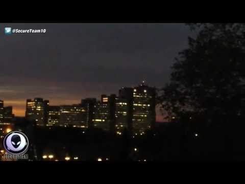 Red UFO Sighted In The Skies Over Ottawa Canada 9/26/2015