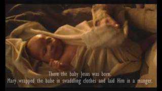 "The Christmas Story   ""Birth of Jesus Christ""   Silent Night  Music by LDS David Archuleta"