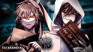 Isaac Foster vs Jeff The Killer RAP | Escaramuza | Keyto ft. BynMc (Prod. Trastorno Beats)