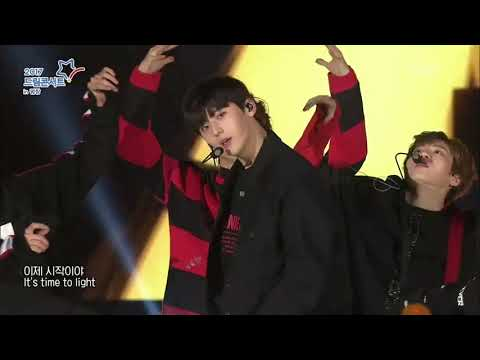 171104 WANNA ONE - Burn It Up @ 2017 Dream Concert in Pyeongchang