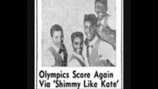 The The Olympics - I Wish I Could Shimmy Like My Sister Kate - 1960 45rpm