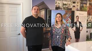 Free Renovation Loan Seminar