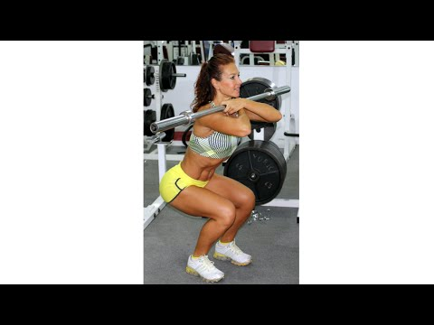 Manuela Ioana Nemes, ACE Personal Trainer: Functional Quads Workout, World Gym Cayman Islands
