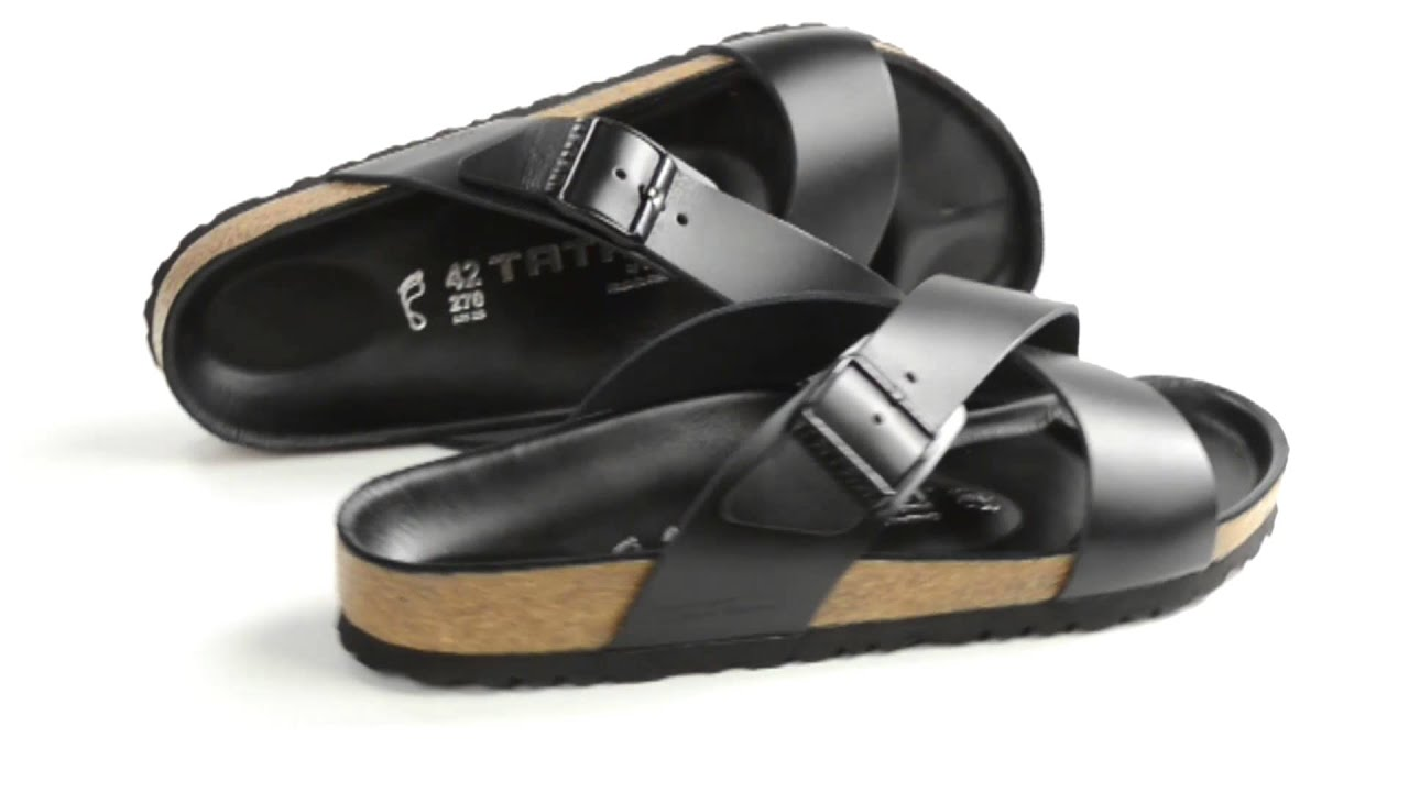 9a185f828f25 Tatami by Birkenstock Tunis Sandals - Leather (For Men) - YouTube