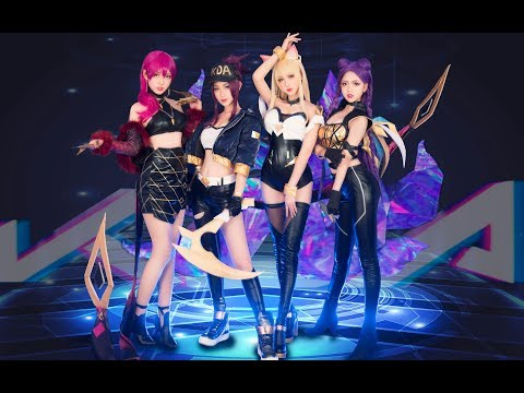 K/DA - POP/STARS MV Cosplay Dance Cover by 波利花菜园(BoliFlowerGarden) 翻跳