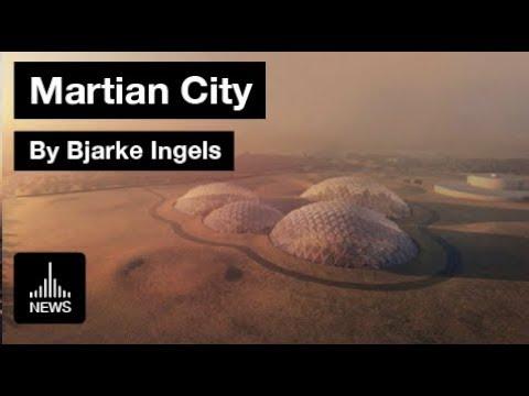 Mars Simulation City by BIG in the UAE Desert
