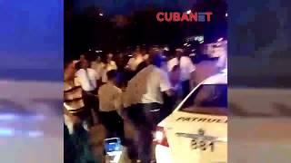 Violencia policial en el aeropuerto José Martí de La Habana