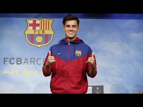 BREAKING NEWS: Philippe Coutinho Signs For Barcelona