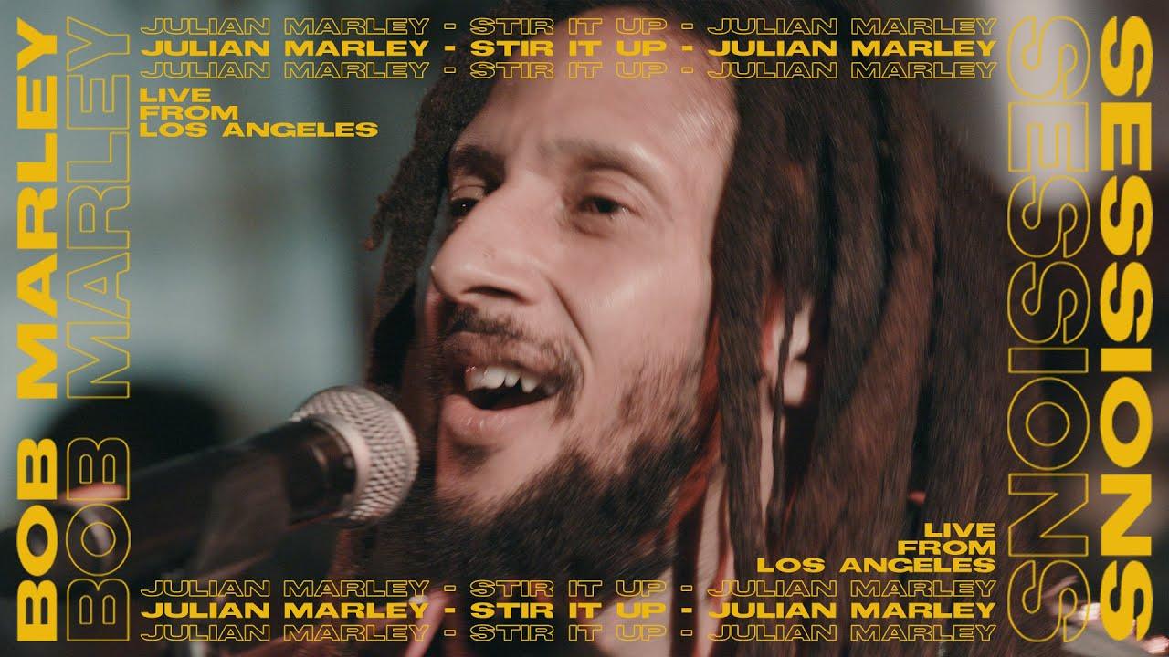 """Julian Marley - """"Stir It Up"""" (Bob Marley Sessions)"""