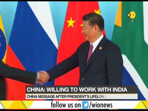 China: Willing to work with India, enhance mutual political trust