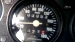 Škoda 130L - nový tachometr v akci