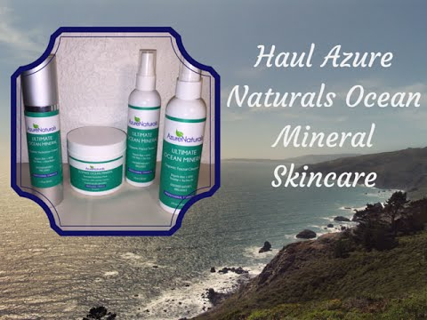 Azure Naturals Ultimate Ocean Minerals Skincare Review