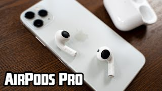 Unschlagbar? AirPods Pro die neuen In Ear Kopfhörer von Apple im Unboxing und Test!