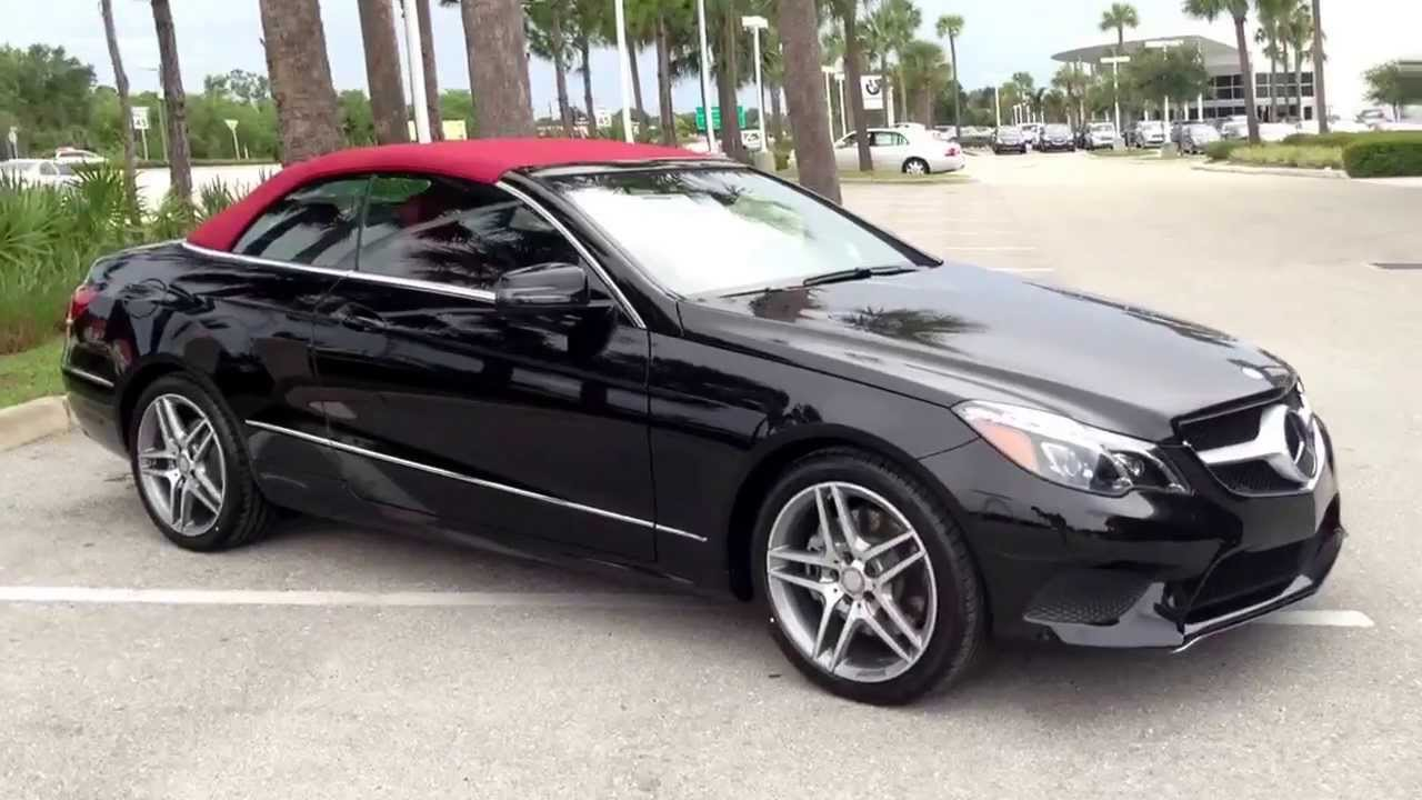 2014 Mercedes E350 Cabriolet - YouTube