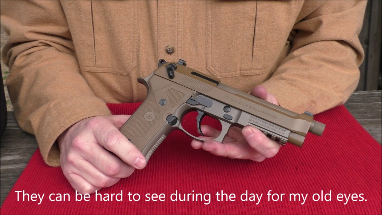 Beretta M9A3! U S  Army says No! Range Review