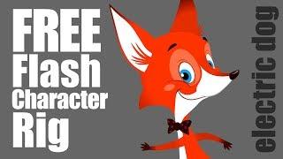 La versión gratuita de Adobe Animate CC & Flash Carácter equipo (el títere)