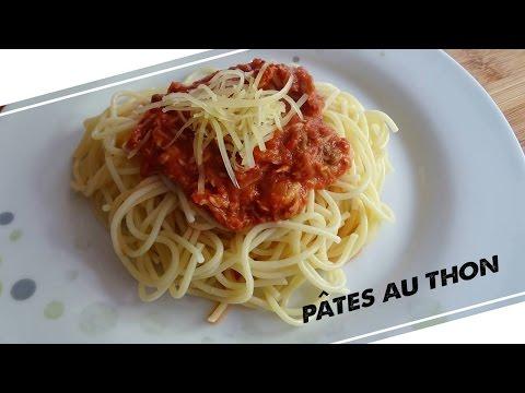 LA RECETTE #9 : Pâtes au thon
