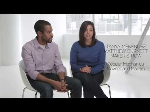 Meet the Makers: Matthew Burnett and Tanya Menendez of Maker's Row