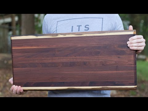 How To Clean A Cutting Board // Refinish