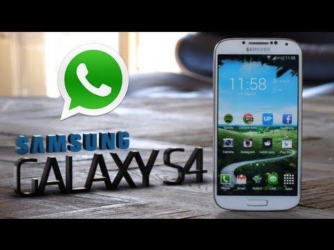 como descargar whatsapp para galaxy s4