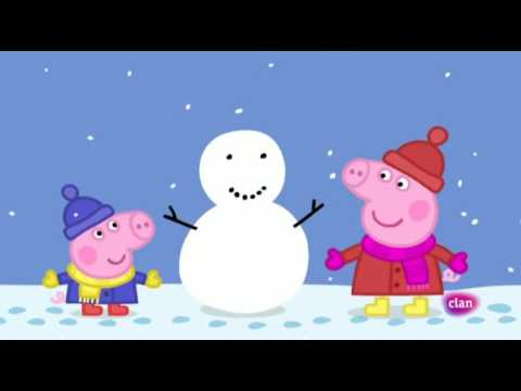 1x26 peppa pig en espa ol nieve episodio completo for En youtube peppa pig