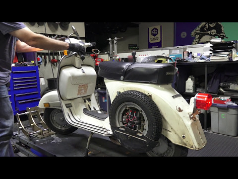 Robot's All Original 74 Vespa Rally 200