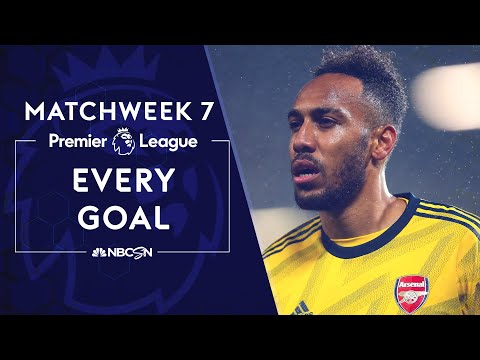 Every Premier League goal from Matchweek 7 | NBC Sports