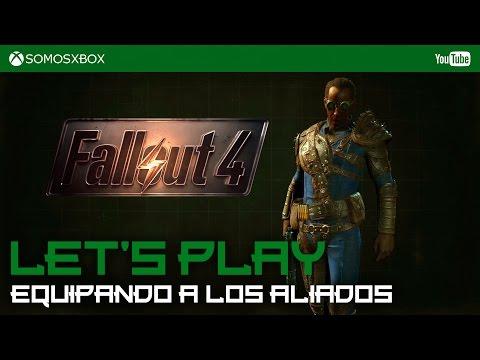 Fallout 4 | Let´s Play | Equipando a nuestros compañeros... Top Fashion!
