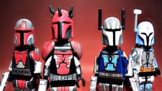 LEGO Star Wars : The Clone Wars | Custom Maul Mandalorians, Pre Vizsla, & Bo-Katan! - Showcase