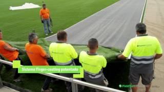 Cambio de césped Ciutat Esportiva Joan Gamper - FCBarcelona