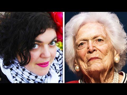Professor Trolls Barbara Bush's Death