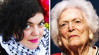 Professor Trolls Barbara Bush's Death