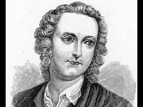 Thomas Gray acclaimed as a great poet