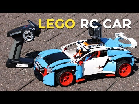 Lego® Rally Car 42077 with Real RC Motor