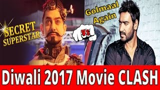 Diwali 2017 Movie CLASH - Ajay Devgan Taking Risk