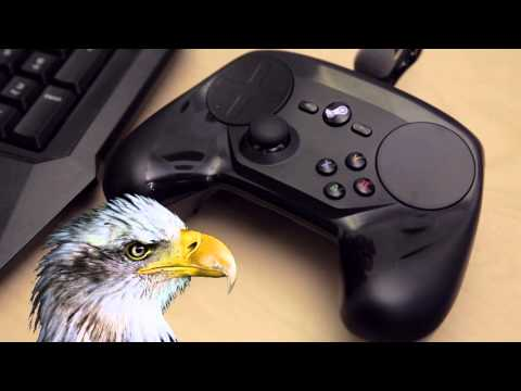 Steam Controller plays The Star Spangled Banner through vibration