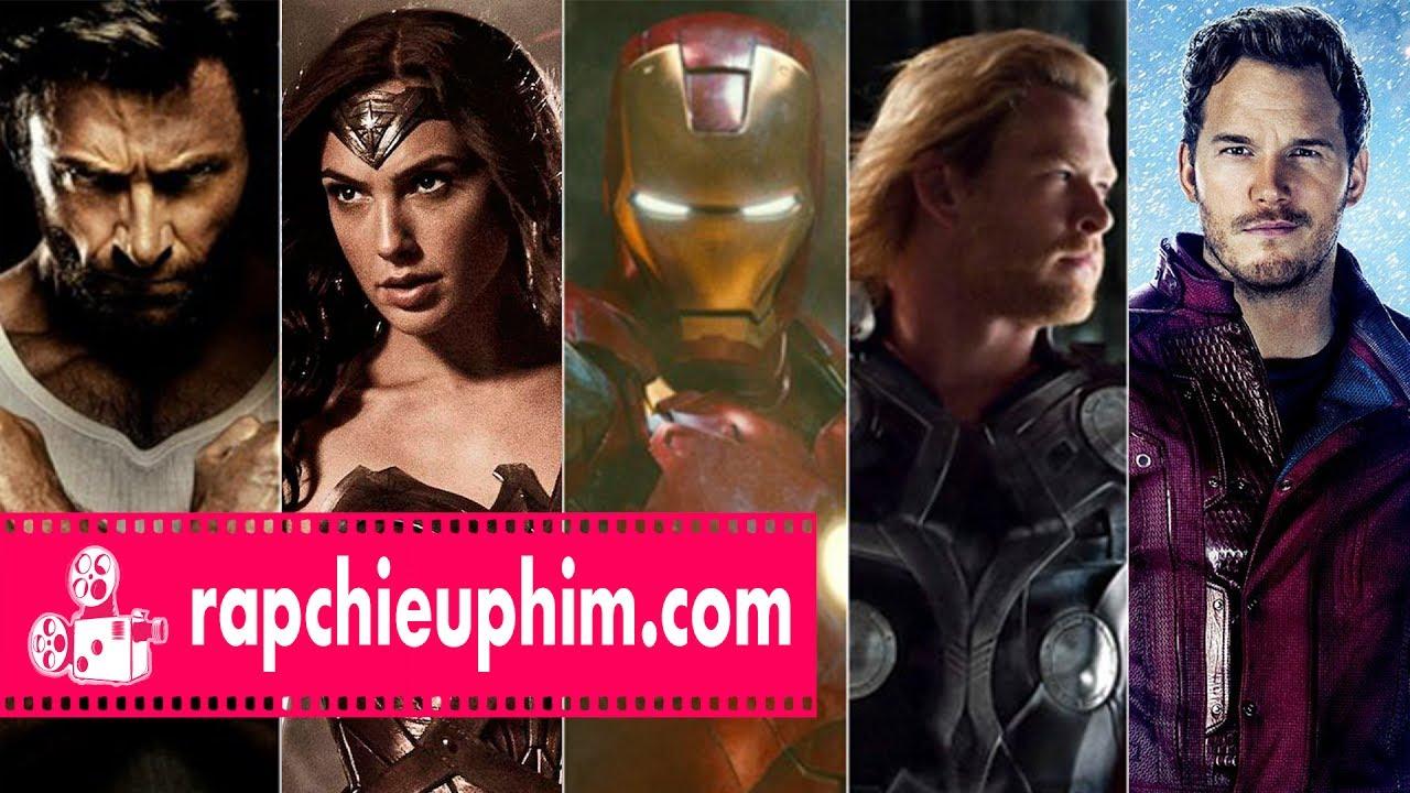 [REVIEW] Top 10 bộ phim siêu anh hùng hay nhất mọi thời đại
